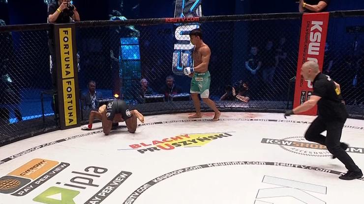 KSW 58: Sensacja! Salahdine Parnasse brutalnie znokautowany przez Daniela Torresa! (WIDEO)