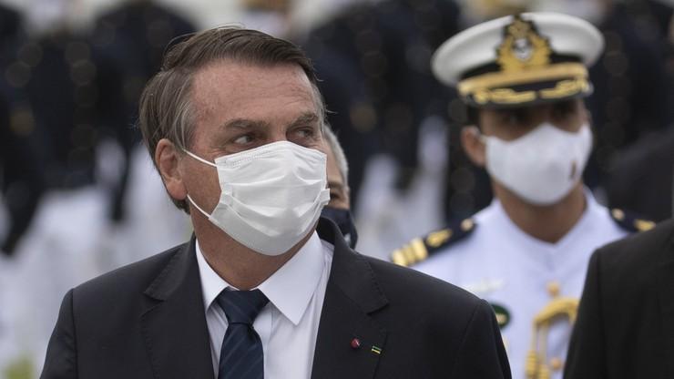 """Prezydent Brazylii zaatakował dziennikarza. """"Zamknij się, jesteś draniem"""""""