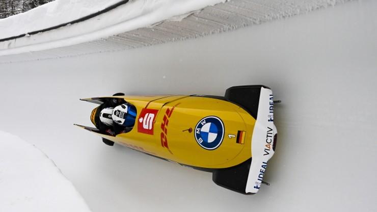 PŚ w bobslejach: Triumf Francesco Friedricha także w czwórkach, Niemiec śrubuje rekord