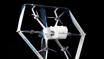 Amazon niespodziewanie ujawnił swój zupełnie nowy dron dostawczy
