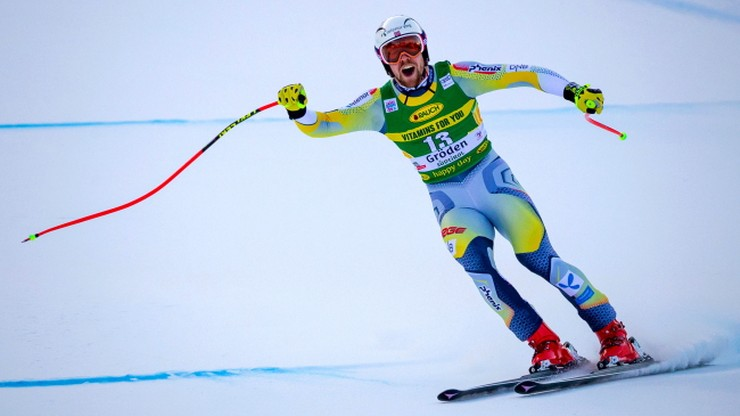 Alpejski PŚ: Aleksander Aamodt Kilde wygrał supergigant w Val Gardenie