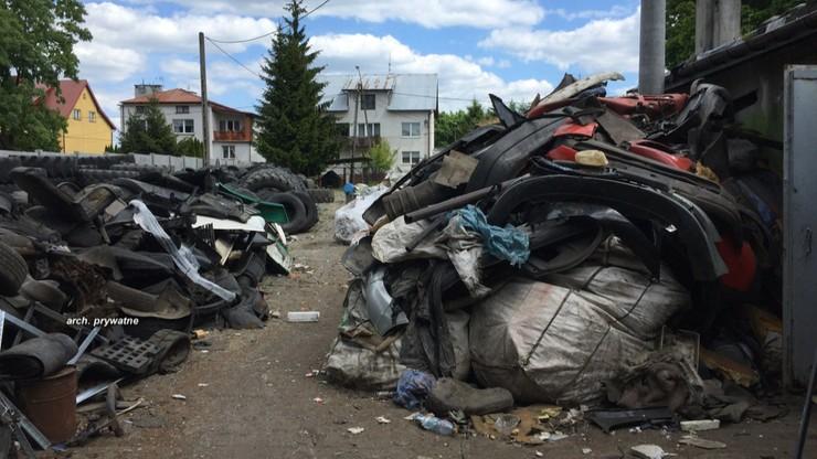 """""""Interwencja"""": Wziął w dzierżawę plac pod biznes. Zmienił go w wysypisko śmieci"""