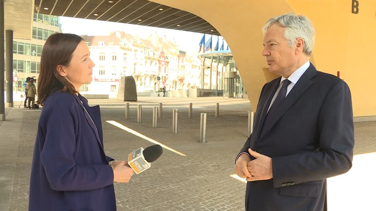 Reynders dla Polsat News: obserwujemy dalszy rozwój prób ataku na polskie sądownictwo