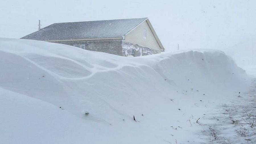Wczesny atak zimy w Kazachstanie. Fot. Instagram / yessen1702.