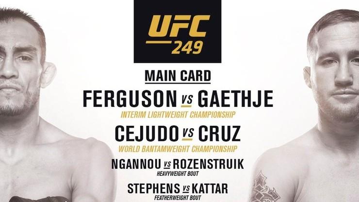 UFC 249: Transmisja w Polsacie Sport