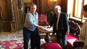 Kaczyński rozmawia z Orbanem. Prezes PiS z wizytą na Węgrzech [ZDJĘCIA]