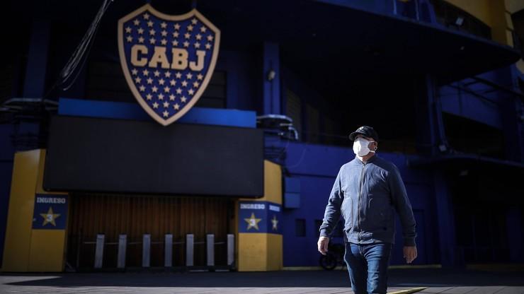 Epidemia koronawirusa w Boca Juniors. Zakażona większość drużyny
