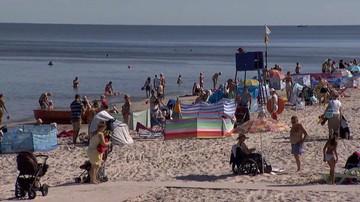 Rekordowo gorąca woda w Bałtyku. Jej temperatura przekracza już 25 stopni Celsjusza