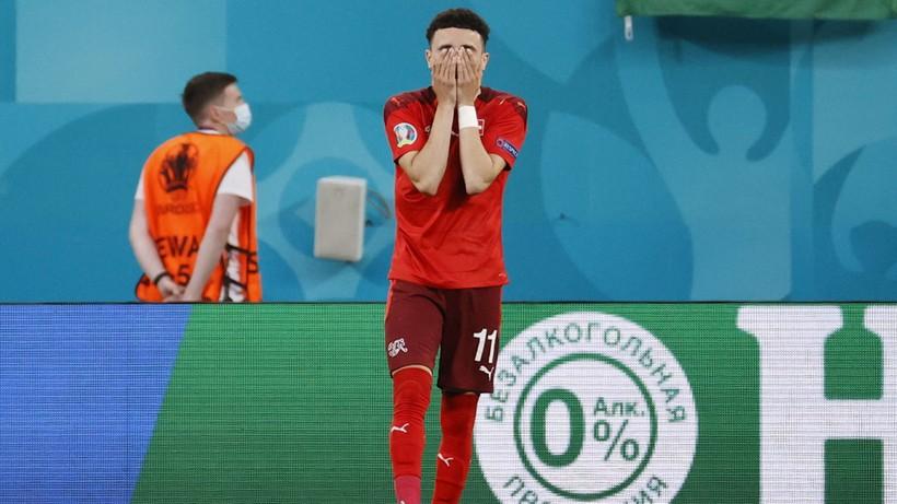 Euro 2020: Szwajcaria - Hiszpania. Awans Hiszpanii po karnych