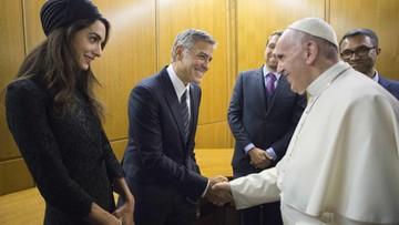 Hayek, Clooney i Gere nagrodzeni w Watykanie