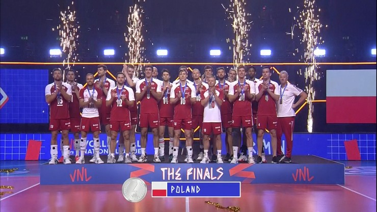 Srebrny medal polskich siatkarzy w Lidze Narodów