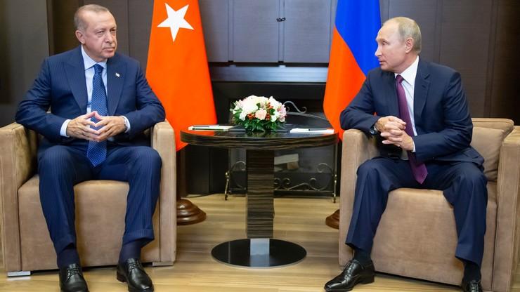 Putin i Erdogan ogłosili porozumienie ws. strefy zdemilitaryzowanej w Syrii
