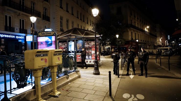 Atak nożownika w centrum Paryża. Sprawca miał francuskie obywatelstwo