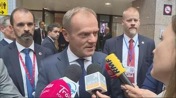 """""""Polska znajduje się na politycznych peryferiach UE"""". Tusk o głosach ws. """"Polexitu"""""""