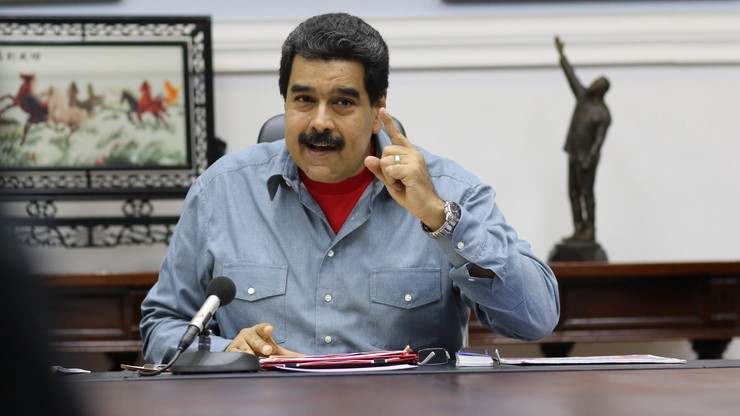 """Wenezuela: prezydent zapowiada manewry wojskowe wobec """"groźby interwencji"""""""