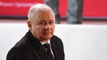 Jarosław Kaczyński tłumaczy swoje słowa po śmierci Jana Szyszki