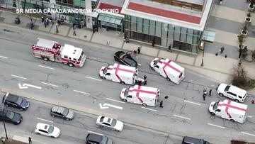 Atak nożownika w Kanadzie. Jedna osoba nie żyje, są ranni