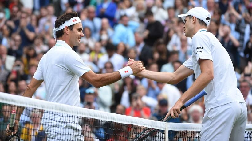 Hubert Hurkacz przyczynił się do wypadnięcia Rogera Federera z Top 10 rankingu ATP