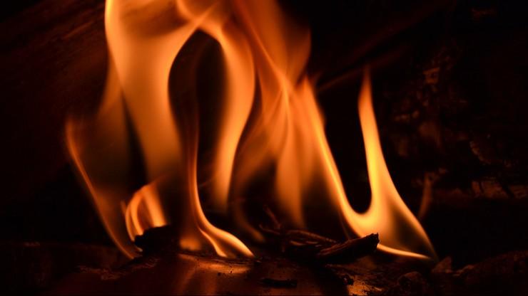 Pożar budynku gospodarczego w Malborku. Zginęły trzy osoby
