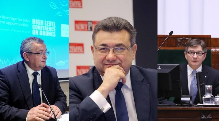 Adamczyk, Tobiszowski i Kuchciński wśród szefów okręgów PiS