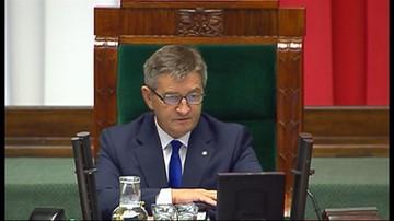 Opozycja chce odwołać marszałka. Debata nad losem Kuchcińskiego