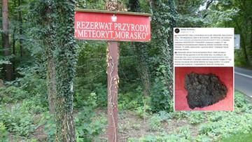 Rekordowy meteoryt odnaleziony w Poznaniu. Waży prawie 300 kg