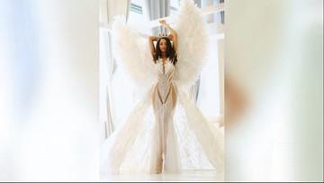 Olga Buława powalczy o koronę Miss Universe w USA. Wystąpi w sukni... z gęsich piór