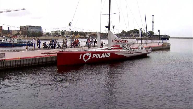 """Jacht """"I love Poland"""" uszkodzony. Naprawa może potrwać kilka tygodni"""
