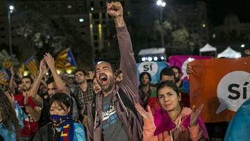 Rząd Katalonii: 90 proc. uczestników referendum głosowało za niepodległością