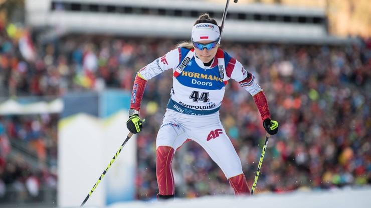 PŚ w biathlonie: Czwarte miejsce Hojnisz-Staręgi