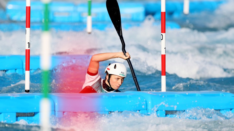 Tokio 2020: Klaudia Zwolińska z awansem do finału w kajakarstwie górskim