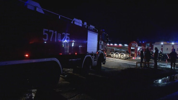 Wybuch gazu podczas akcji gaśniczej w Zachodniopomorskiem. Pięciu strażaków poszkodowanych