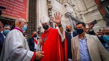 Cud we Włoszech? Arcybiskup: krew stała się płynna