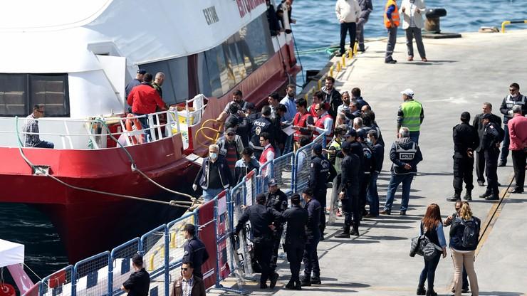 Grecja: do Turcji odesłano 45 migrantów