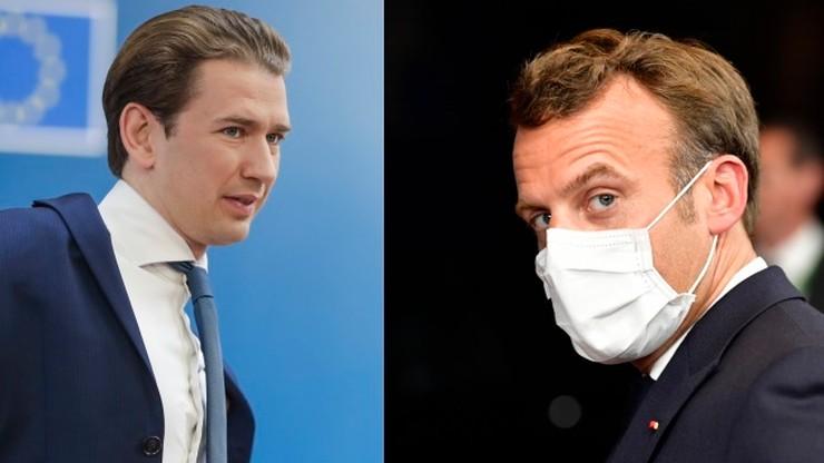 Nerwowa atmosfera w Brukseli. Spięcie prezydenta Francji z kanclerzem Austrii