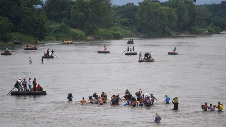 Maduro apeluje do Trumpa o otwarcie granic dla karawany migrantów