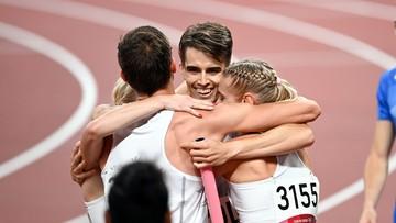 Tokio 2020: Polacy biegnący w eliminacjach sztafety odebrali złote medale