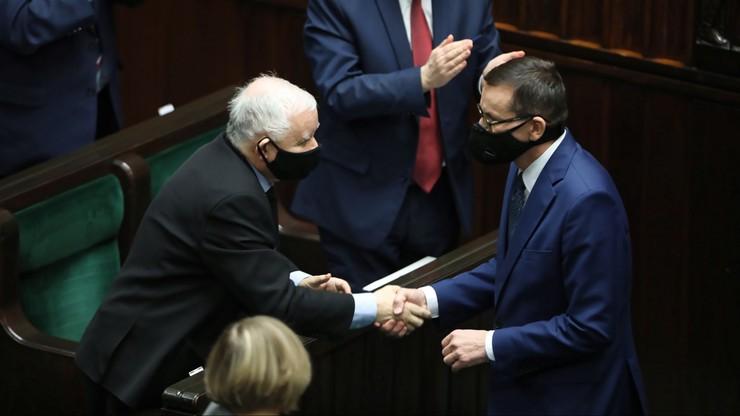 """Premier o """"frontalnym ataku na Jarosława Kaczyńskiego"""""""