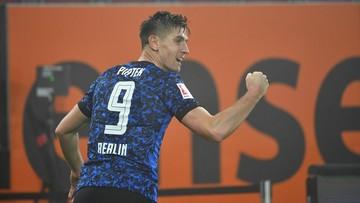 Bundesliga: Gol Krzysztofa Piątka. Hertha w końcu ze zwycięstwem