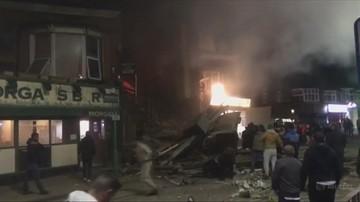 Potężny wybuch w angielskim Leicester. Cztery osoby w szpitalu
