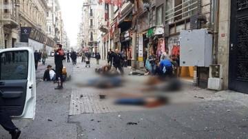 Ulica w Stambule przed i po zamachu. Szokujące zdjęcia