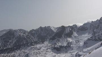 W Tatrach spadł śnieg. Złe warunki turystyczne