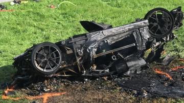 """Groźny wypadek Richarda Hammonda. Były prowadzący """"Top Gear"""" rozbił testowane auto"""