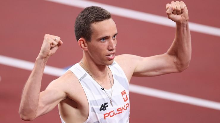 Tokio 2020. Patryk Dobek z brązowym medalem w biegu na 800 metrów