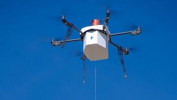 Historyczna dostawa towaru dronem w USA. I nie był to Amazon