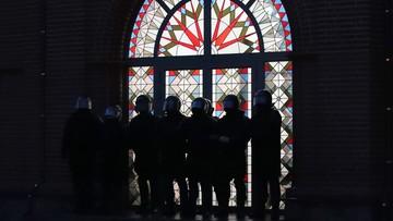 Milicja rozpędziła demonstrację w Mińsku. Część ludzi zamknięto w kościele