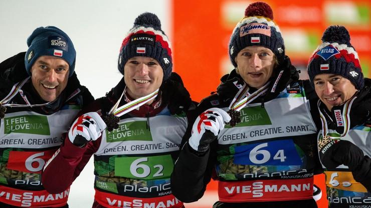 Polscy skoczkowie z brązowym medalem mistrzostw świata w lotach!