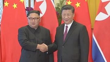 """Prezydent Chin pogratulował Kimowi """"pozytywnego wyniku"""" szczytu z Trumpem i zapewnił o wsparciu"""
