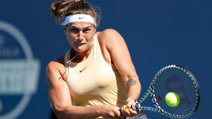 WTA w Wuhan: Sabalenka obroniła tytuł