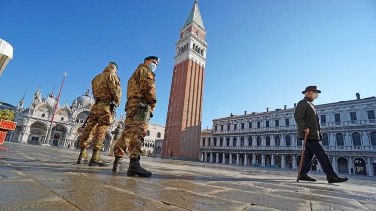 Stan wyjątkowy we Włoszech przedłużony do końca kwietnia